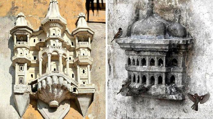Queste incredibili strutture architettoniche sono case per uccelli costruite dagli Ottomani