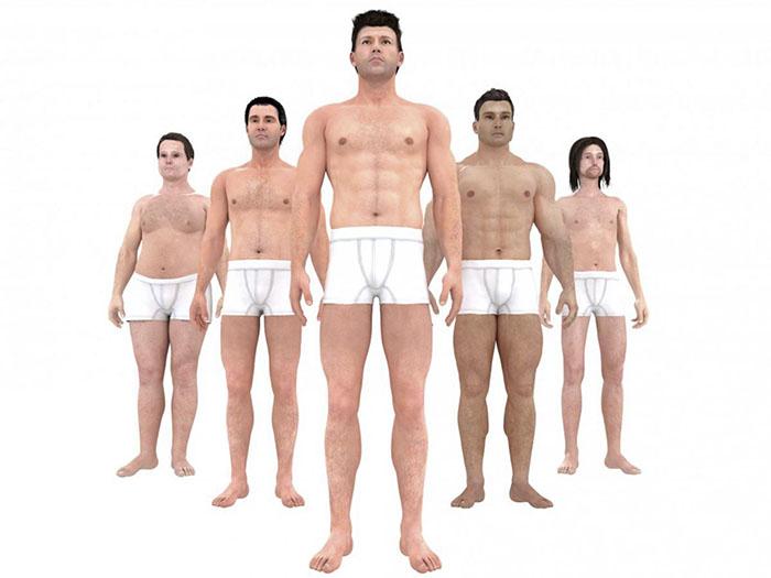 Ideale Corpo Maschile Cambiamenti Nel Tempo