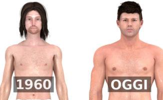 L'ideale del corpo maschile è molto cambiato nel tempo, ecco come: