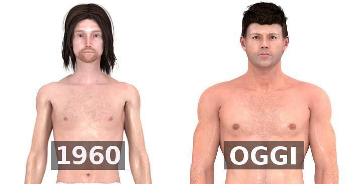 Lideale Di Corpo Maschile è Molto Cambiato Nel Tempo Ecco Come