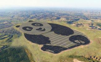 L'impianto di pannelli solari più carino del mondo