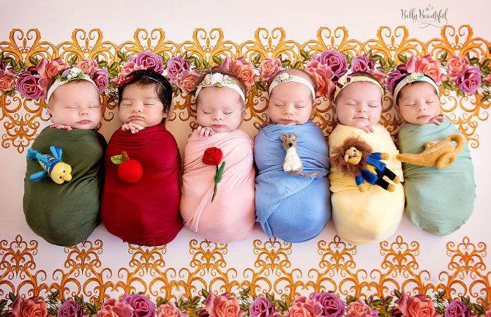 Se le principesse Disney fossero bebè