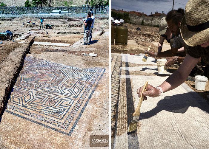 Scoperta archeologica eccezionale: una mini Pompei rinvenuta in Francia
