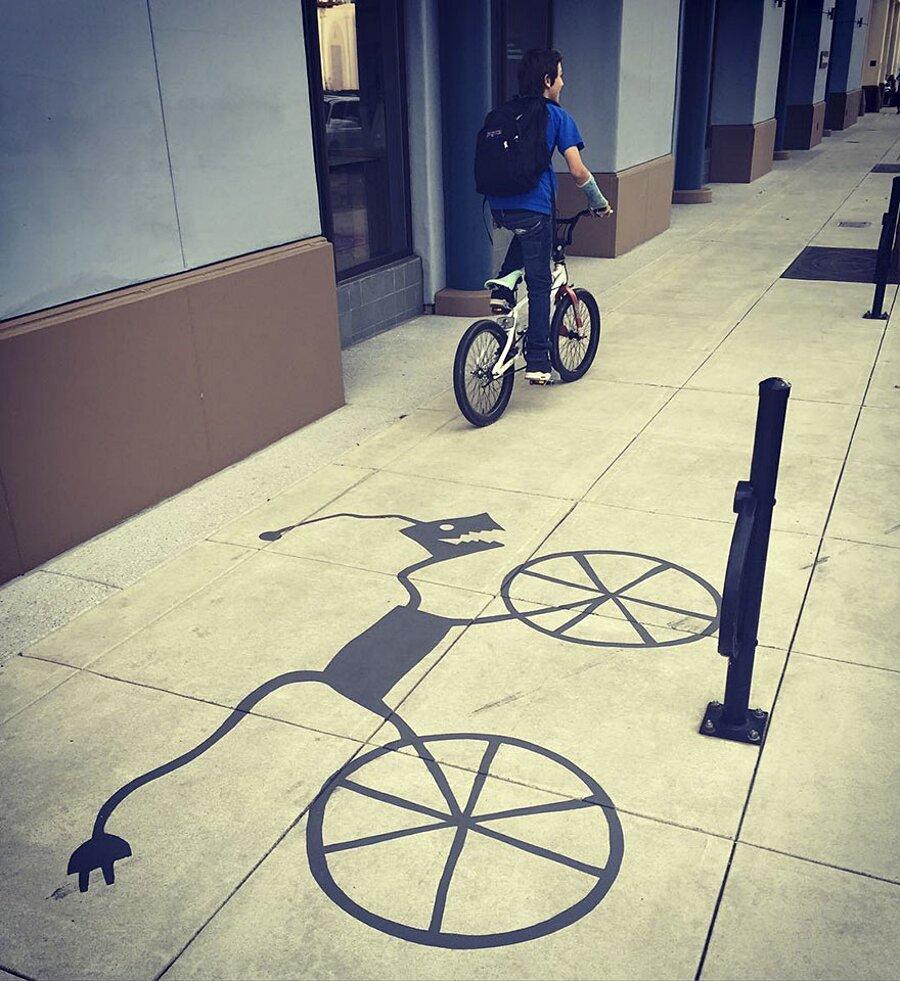 Ombre Creative Street Art Damon Belanger Redwood City