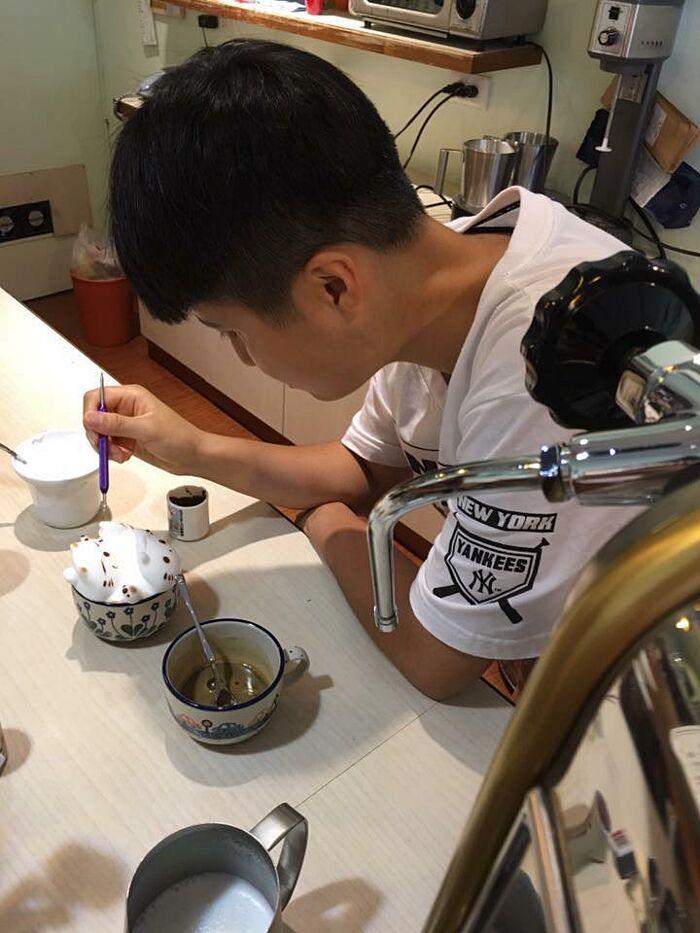 Cappuccino Decorazioni Tridimensionali My Cofi Taiwan
