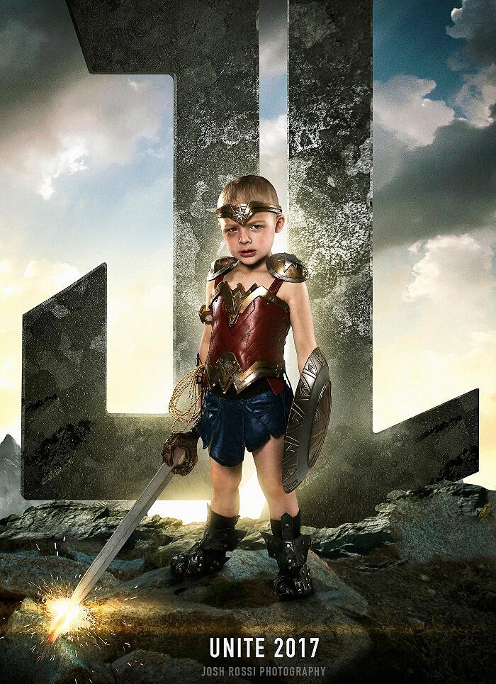 Bambini malati e disabili diventano supereroi, Kid Super Heroes, fotografia, Josh Rossi
