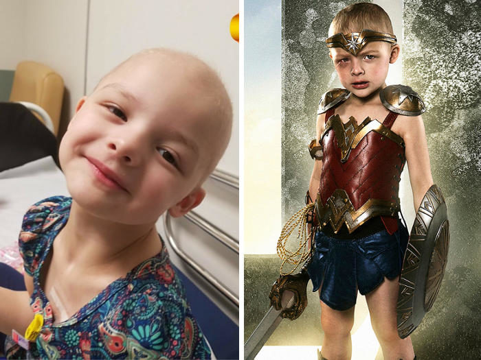 Fotografo dona super poteri a bambini malati trasformandoli in supereroi