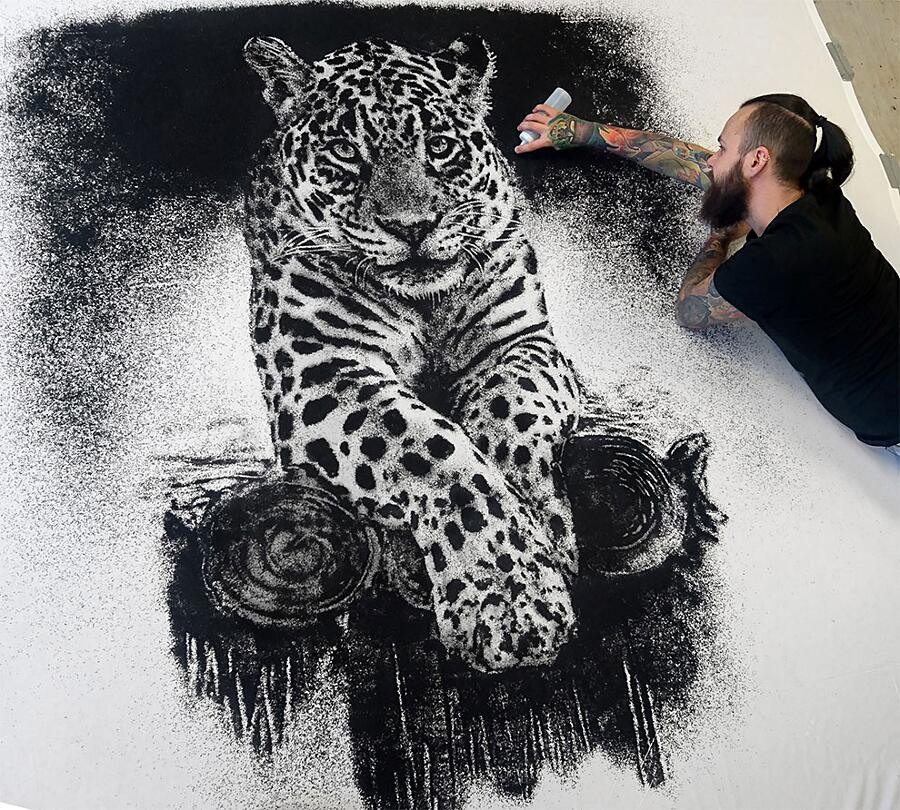 Disegni Realistici A Matita Sale Sabbia Dino Tomic