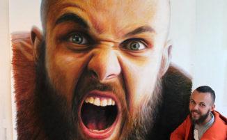 Realismo ed espressività nei disegni di un talentuoso artista croato