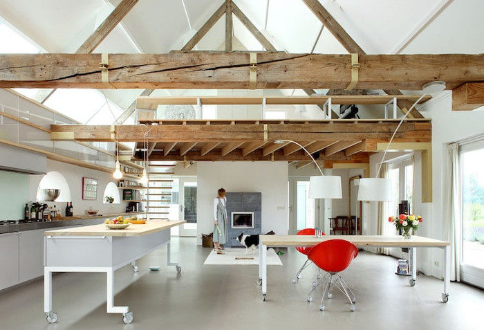 19 fienili trasformati in bellissime abitazioni