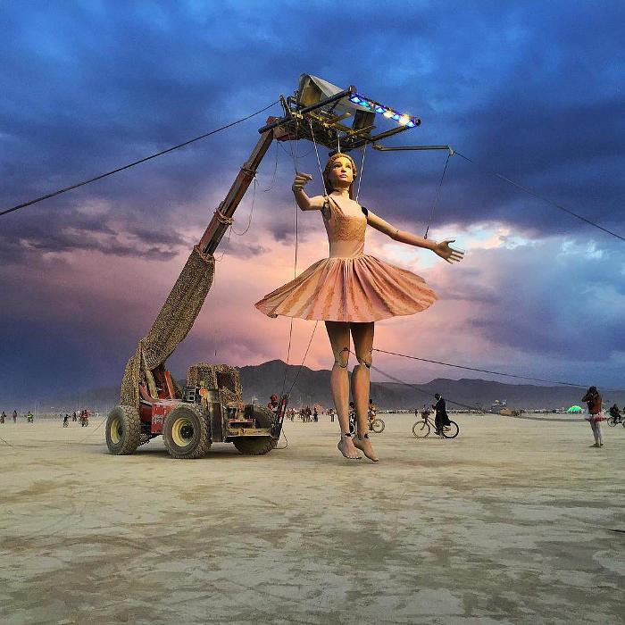 98 foto del Burning Man 2017, il festival più pazzo del mondo