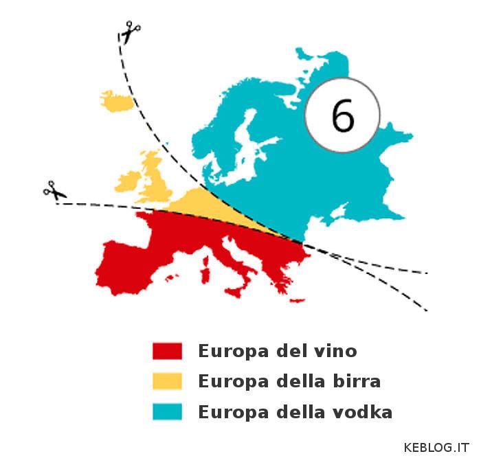 Mappe dell'Europa illustra stereotipi - Atlas of Prejudice - Yanko Tsvetkov-