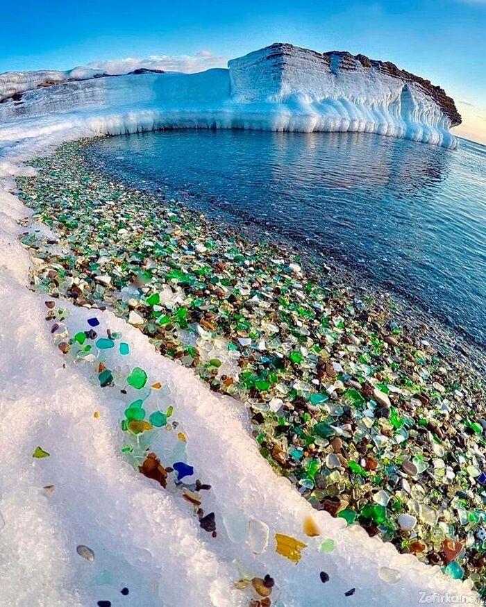 Spiaggia Di Vetro Ussuri Bay Russia