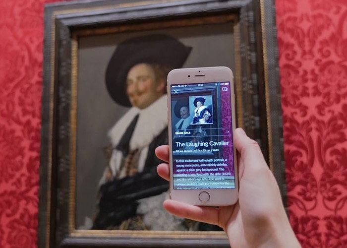Un'App che riconosce i quadri nei musei e ve li racconta