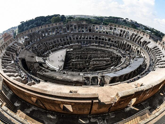 Colosseo Aperti Quarto E Quinto Livello