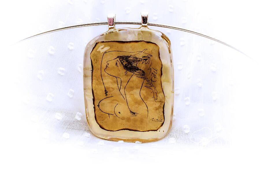 Gioielli Artigianali In Resina Ispirati Ad Opere d'Arte Famose Pagane Uniques