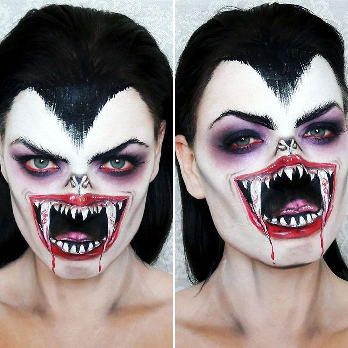 Make Up Artistico Horror Halloween Samantha Staines