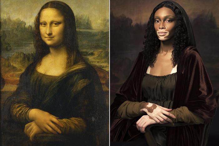 Quadri famosi reinterpretati da modelle non convenzionali per Harper's Bazaar