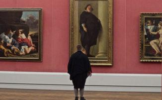 Quando andando al museo incontri persone abbinate ad un quadro