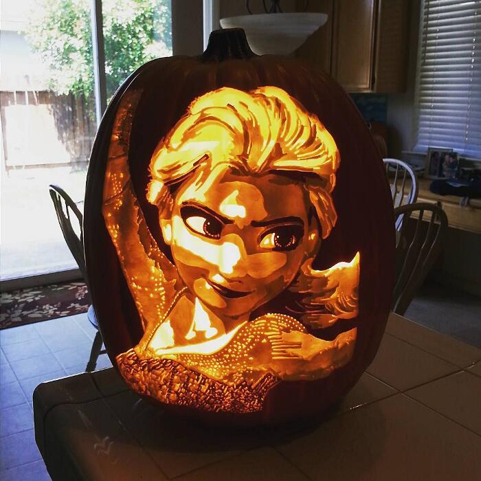 Zucche Intagliate The Geek Pumpkin