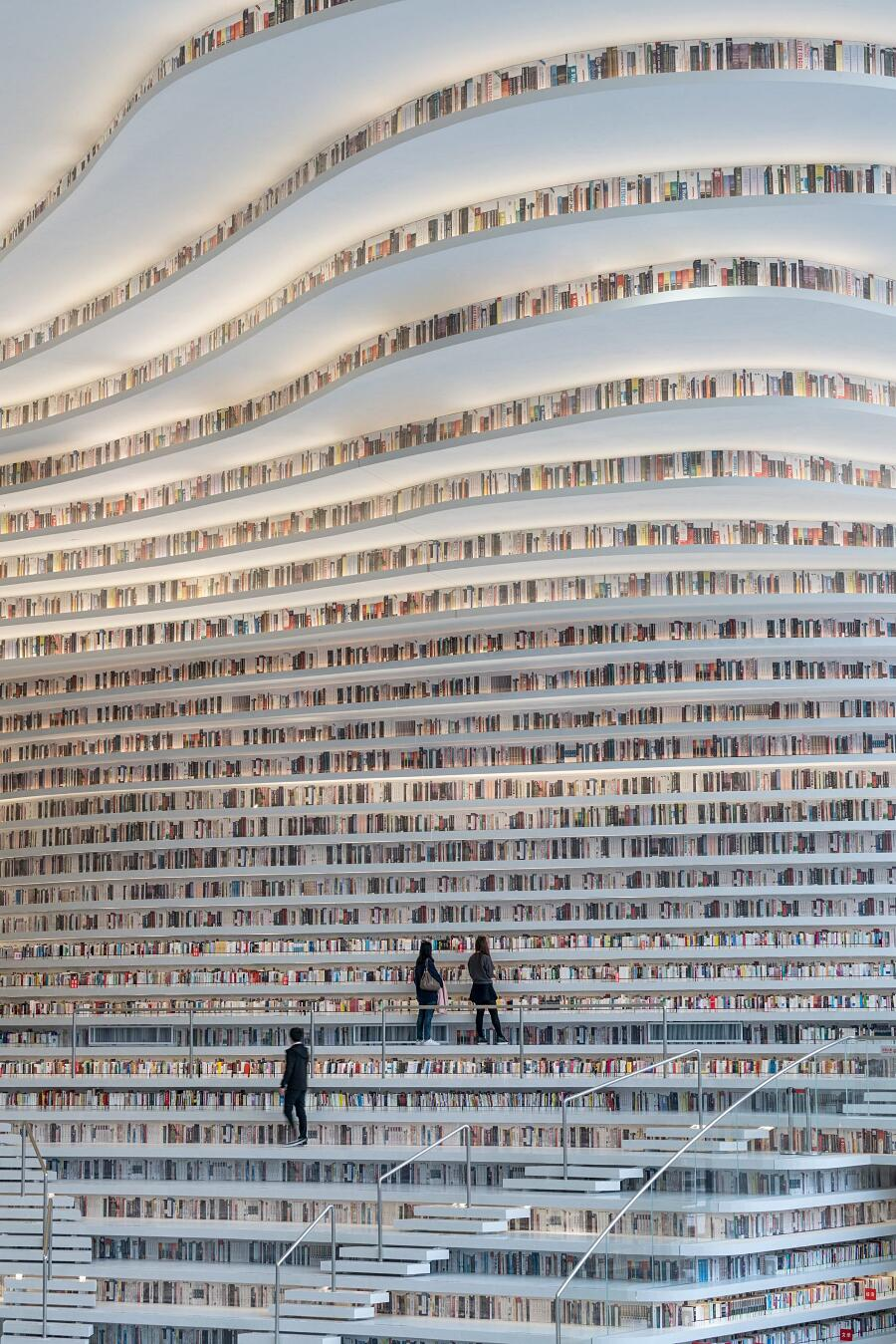 Biblioteca Futuristica Cina MVRDV