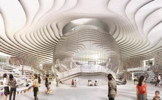 Benvenuti nel futuro: un viaggio virtuale nella nuova biblioteca aperta in Cina