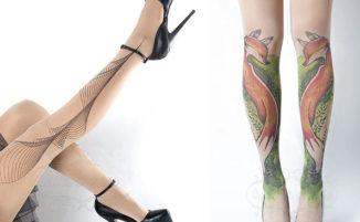 Collant che sembrano tatuaggi, per chi non si sente ancora pronto al grande passo
