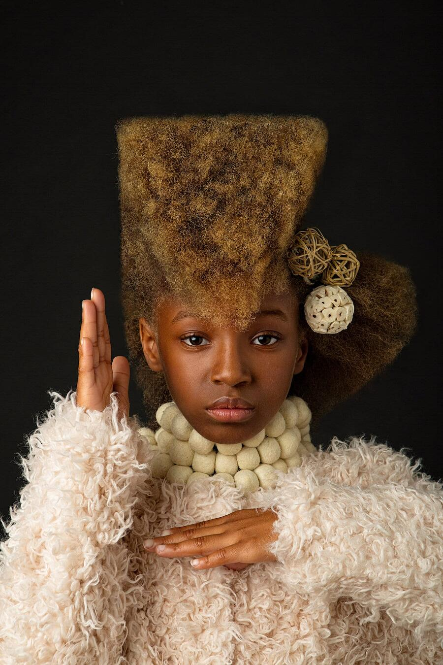 Foto Bambine Capelli Afro CreativeSoul Photo Afro Art