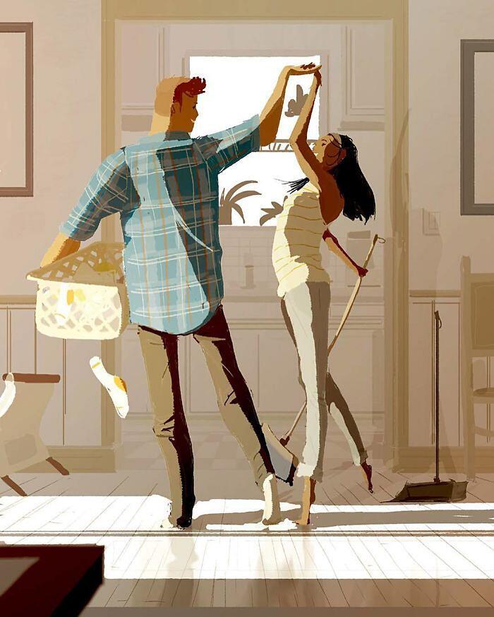 Illustrazioni Sull'Amore E La Famiglia Pascal Campion