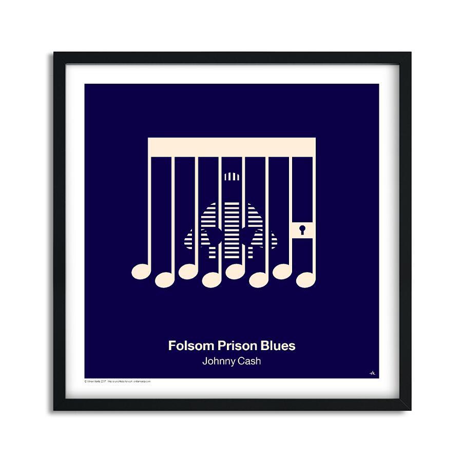 Illustrazioni Poster Musica, Pictoriam Vinyl Posters di Viktor Hertz