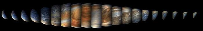 Foto Giove Missione Juno NASA