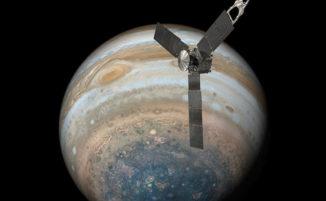 Incredibili immagini del pianeta Giove trasmesse alla NASA dalla sonda spaziale Juno