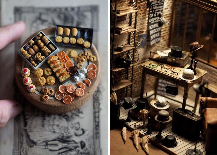 Artista giapponese realizza bellissime miniature per le case delle bambole