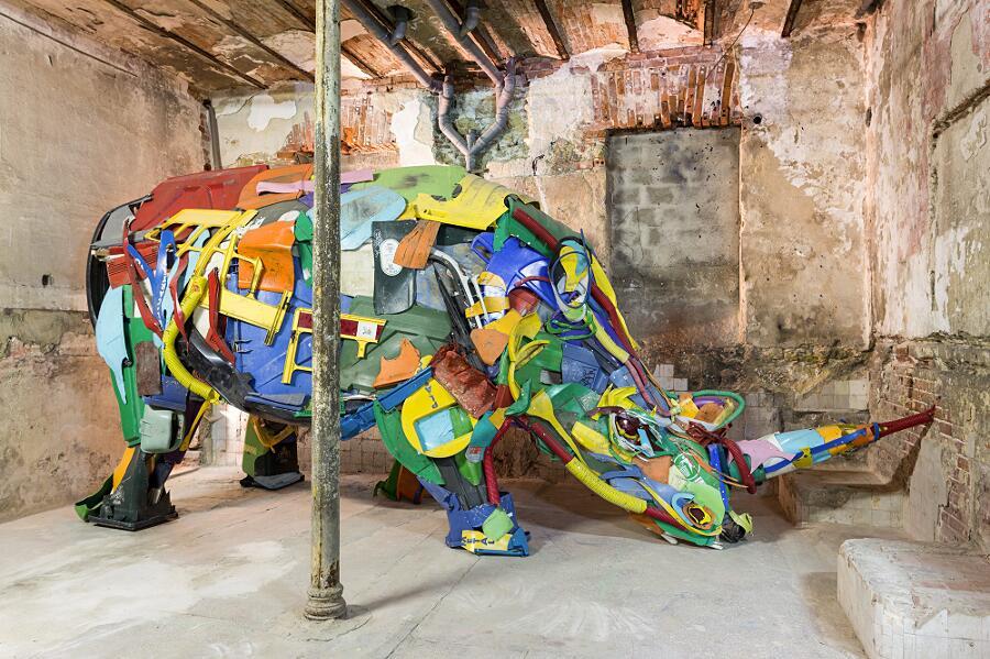 Mostra Di Street Art Attero Bordalo II