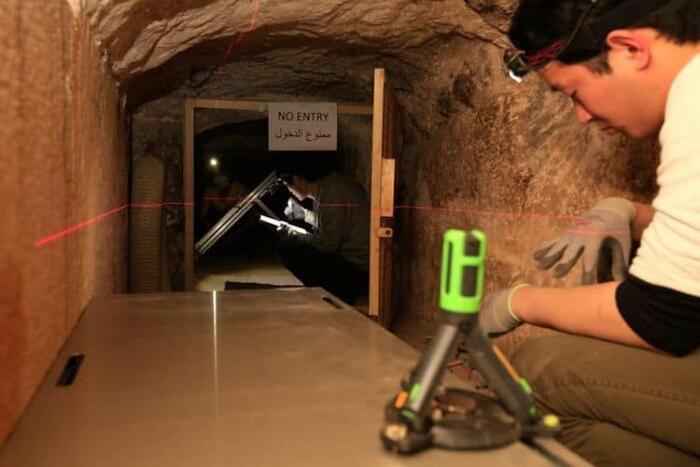 Scoperto Spazio Nascosto Nella Piramide Di Cheope Egitto