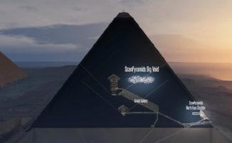 Scoperta una nuova camera nascosta nella Piramide di Cheope