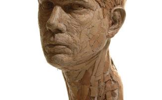 Bellissime sculture in cartone riciclato
