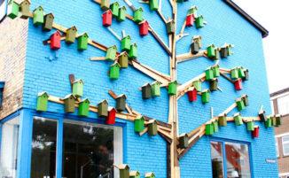 Grazie ad un progetto di street art vengono realizzate 3.500 case per uccelli