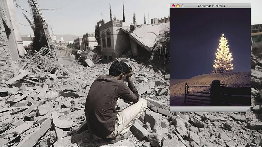 Steet Art Sulla Crisi Umanitaria In Yemen Di Igor Dobrowolski