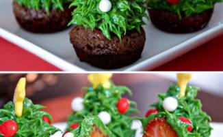 50 tra i più creativi cupcake natalizi che abbiate mai visto