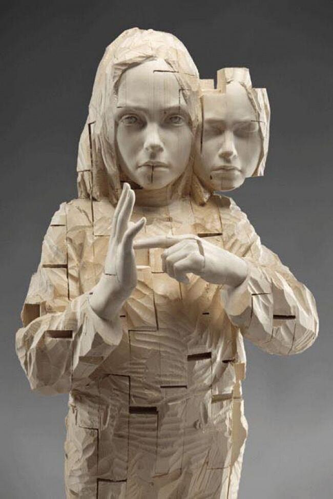 Sculture in legno realistiche