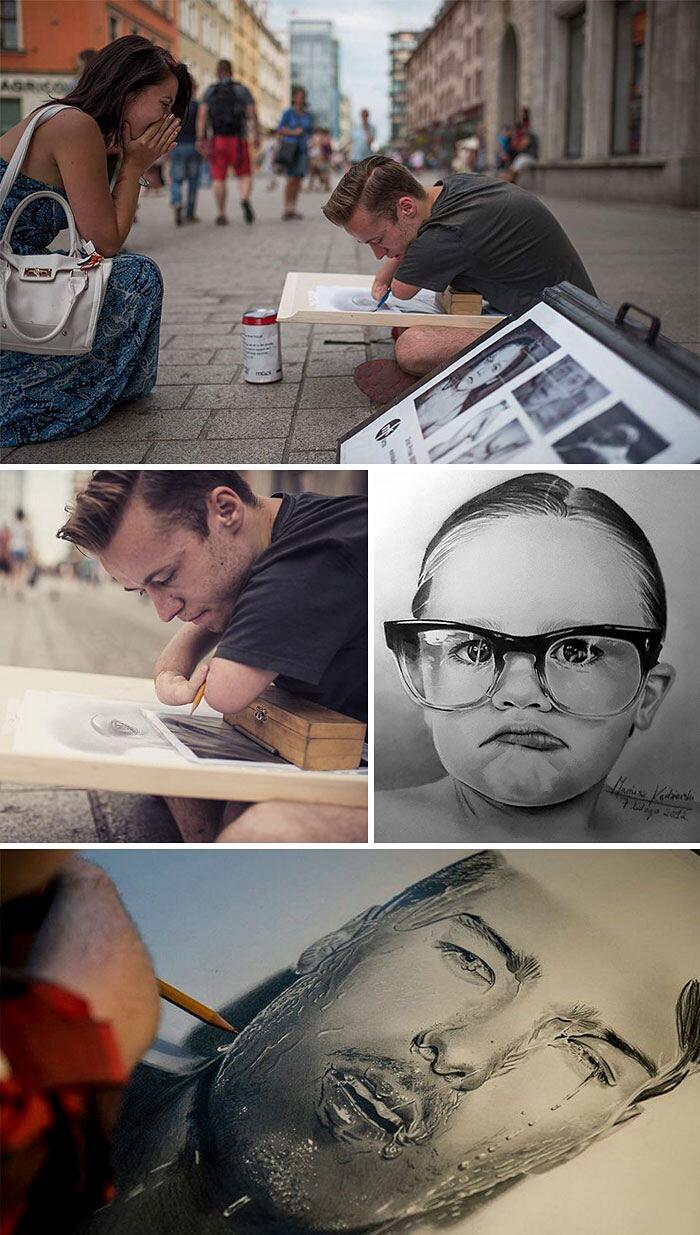 Artisti Disabili Realizzano Incredibili Opere D'Arte