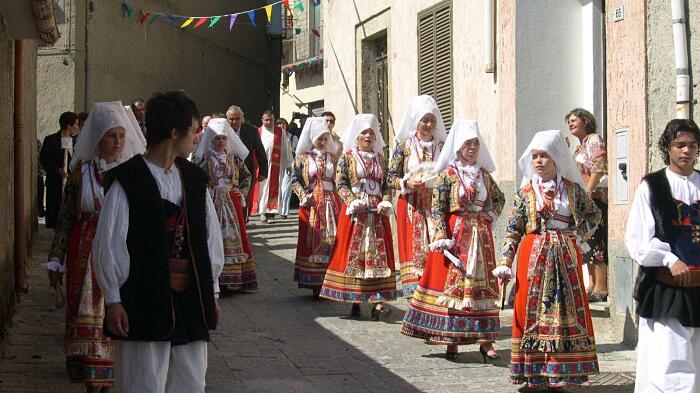 Centro Storico Ollolai Sardegna