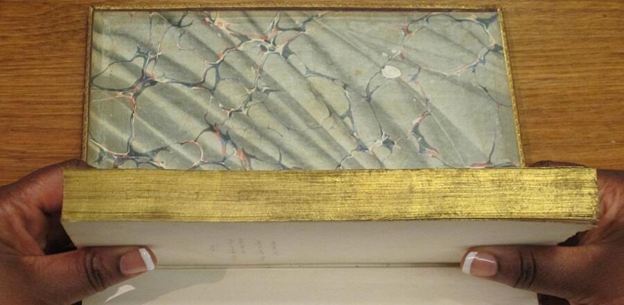 Dipinti nascosti nei libri antichi: fore-edge painting