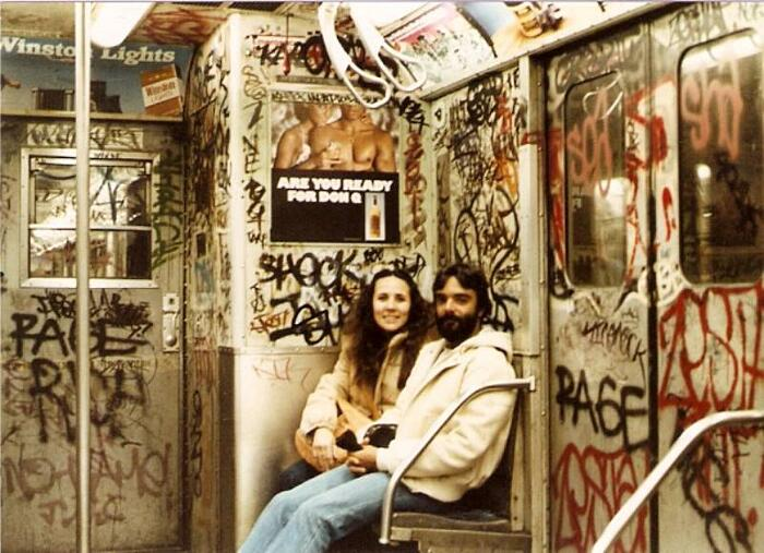 Foto Metro New York Anni '80
