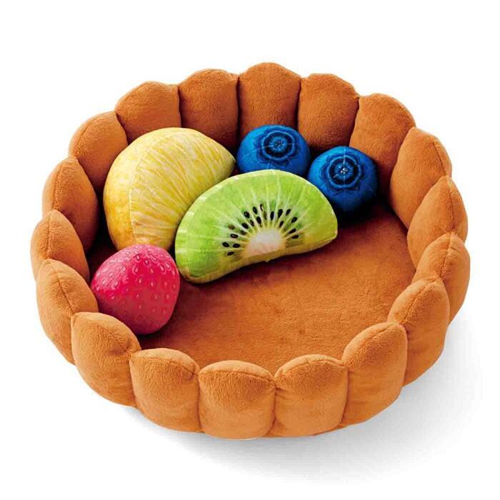 Letto Per Gatti A forma di Crostata Di Frutta Felissimo