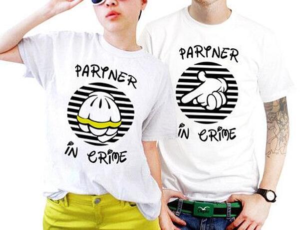 Magliette Di Coppia Divertenti