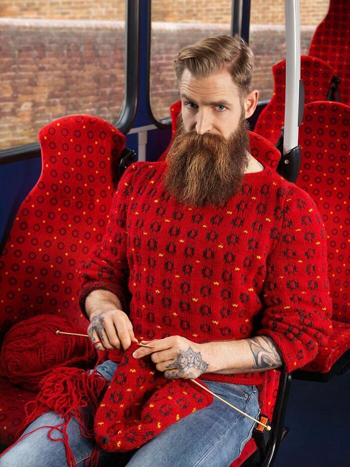 Maglioni Mimetici Knitted Camouflage Nina Dodd Joseph Ford