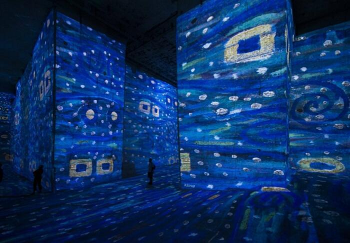 Mostra Digitale Atelier Des Lumières Culturespaces Parigi