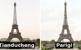 "Sembra la Torre Eiffel, invece è una Parigi ""made in China"""